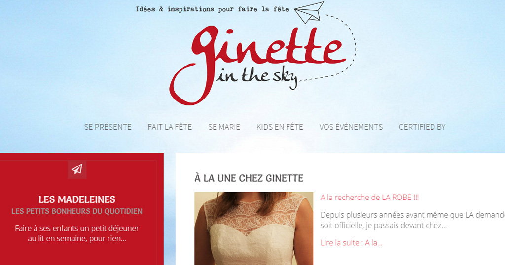 Ginette in the Sky